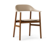 Židle Herit Armchair Smoked Oak, sand