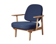Lounge chair JH97, dark blue