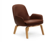Křeslo Era Lounge, Oak Tango Leather, nízké