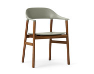 Židle Herit Armchair Smoked Oak, dusty green