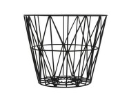 Koš Wire Basket Large, Black