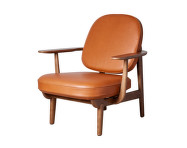 Lounge chair JH97, leather