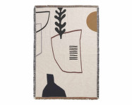 Deka Mirage Blanket, off white