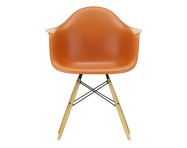 Židle Eames DAW, rusty orange